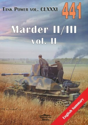 Marder II/III vol. II. Tank Power - okładka książki