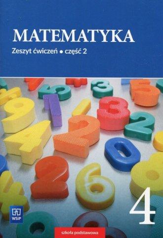 Matematyka 4. Szkoła podstawowa. - okładka podręcznika