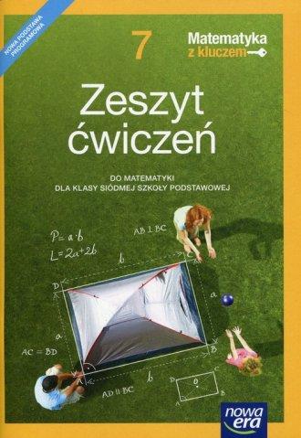 Matematyka z kluczem 7. Szkoła - okładka podręcznika