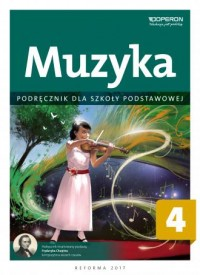 Muzyka 4. Szkoła podstawowa. Podręcznik - okładka podręcznika
