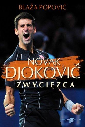 Novak Djoković. Zwycięzca - okładka książki