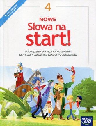 Nowe Słowa na start! 4. Szkoła - okładka podręcznika