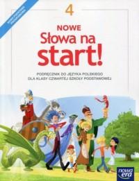 Nowe Słowa na start! 4. Szkoła podstawowa. Podręcznik - okładka podręcznika