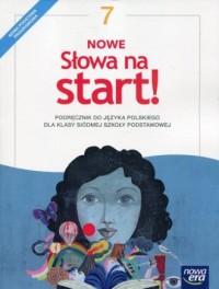 Nowe Słowa na start! 7. Szkoła - okładka podręcznika