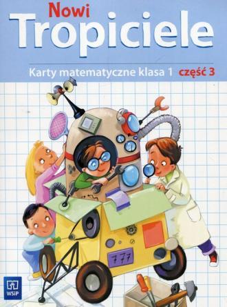 Nowi Tropiciele 1. Szkoła podstawowa - okładka podręcznika