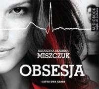 Obsesja - pudełko audiobooku