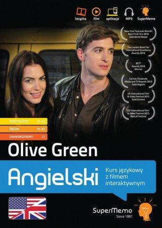 Olive Green Kurs językowy z filmem - okładka podręcznika