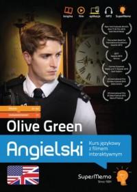 Olive Green Kurs językowy z filmem interaktywnym poziom średni B1-B2 oraz zaawansowany C1 - okładka podręcznika