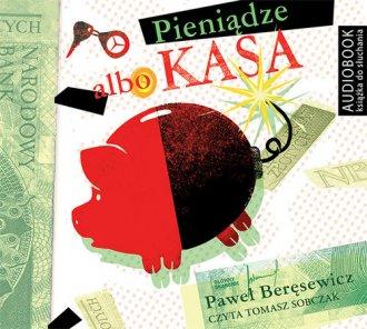 Pieniądze albo kasa - pudełko audiobooku