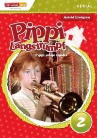 Pippi Langstrumpf 2 Pippi udaje - okładka książki
