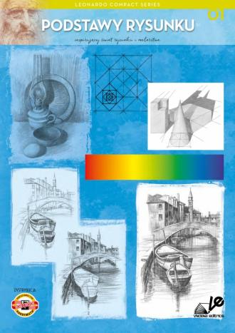 Podstawy rysunku 01 Leonardo Compact - okładka książki