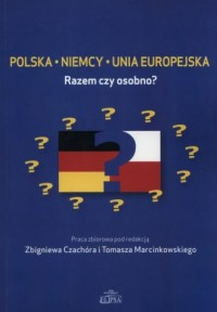 Polska Niemcy Unia Europejska. - okładka książki