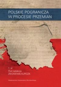 Polskie pogranicza w procesie przemian. - okładka książki