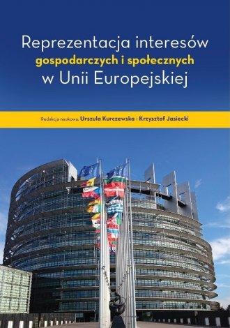 Reprezentacja interesów gospodarczych - okładka książki
