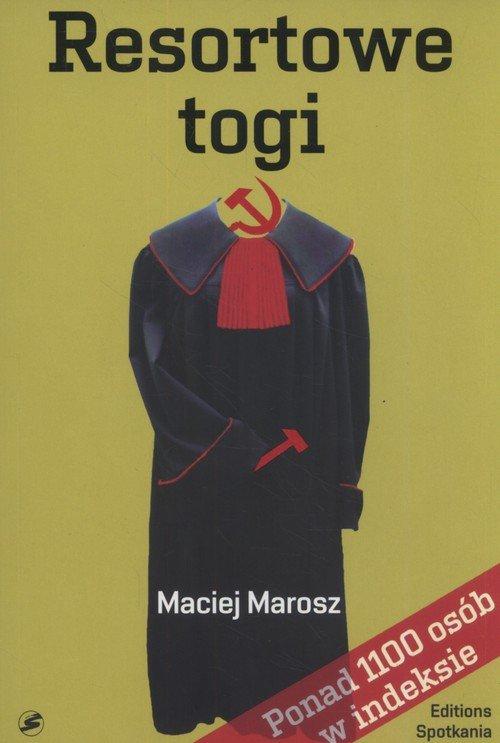 Resortowe togi - okładka książki