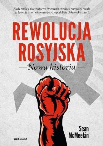Rewolucja Rosyjska. Nowa historia - okładka książki