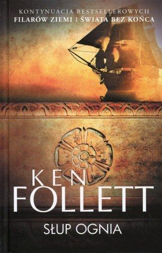 Słup ognia - okładka książki