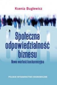 Społeczna odpowiedzialność biznesu.. - okładka książki