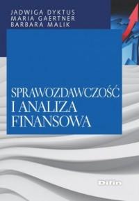 Sprawozdawczość i analiza finansowa - okładka książki