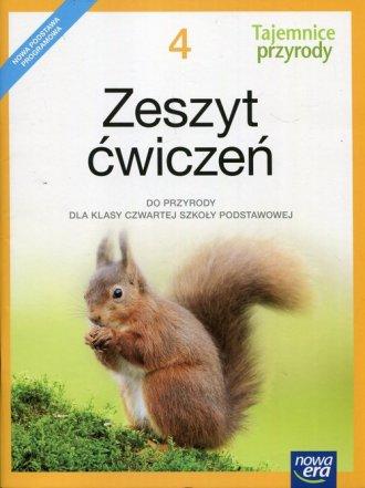 Tajemnice przyrody 4. Szkoła podstawowa. - okładka podręcznika