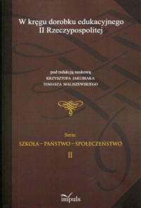 W kręgu dorobku edukacyjnego II - okładka książki