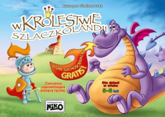 W Królestwie Szlaczkolandii - okładka książki