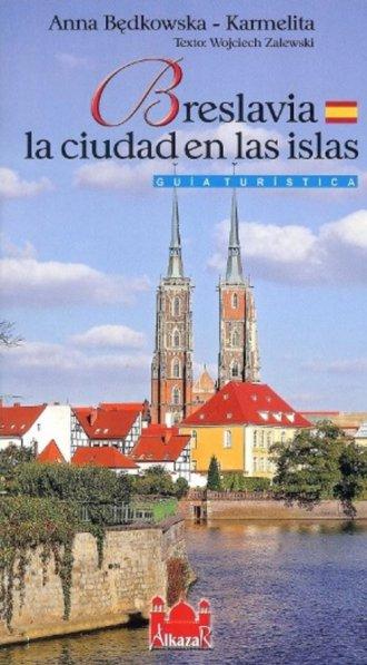 Wrocław miasto na wyspach wersja - okładka książki