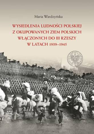 Wysiedlenia ludności polskiej z - okładka książki