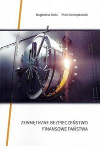 Zewnętrzne bezpieczeństwo finansowe - okładka książki