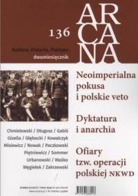 Arcana nr 136 - okładka książki