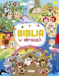 Biblia w obrazach - Laureen Bouyssou - okładka książki