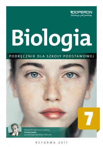 Biologia 7. Szkoła podstawowa. - okładka podręcznika