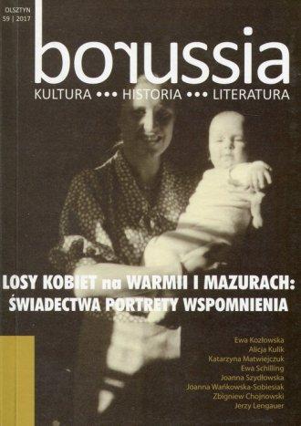 Borussia 59. Losy kobiet na Warmii - okładka książki