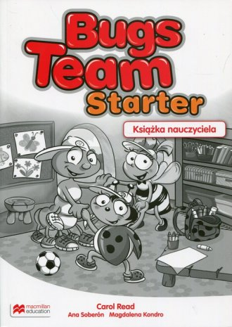 Bugs Team Starter. Książka nauczyciela. - okładka podręcznika