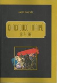 Chacabuco i Maipú 1817-1818 - okładka książki