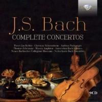 Complete concertos bach 9cd - Wydawnictwo - okładka płyty