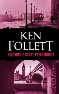 Człowiek z Sankt Petersburga - - okładka książki