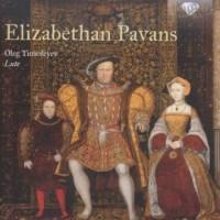 Elizabethan Pavans lute music - - okładka płyty