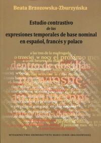 Estudio contrastivo de las expresiones - okładka podręcznika
