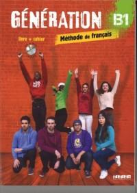 Generation B1. Podręcznik + ćwiczenia - okładka podręcznika