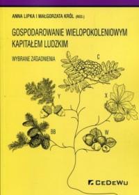 Gospodarowanie wielopokoleniowym - okładka książki