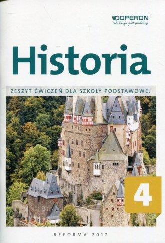 Historia 4. Szkoła podstawowa. - okładka podręcznika