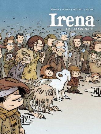 Irena 2. Sprawiedliwi - okładka książki