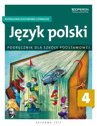 Język polski 4. Szkoła podstawowa. - okładka podręcznika