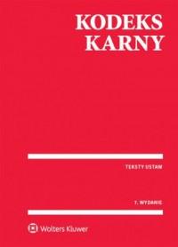 Kodeks karny - Wydawnictwo - okładka książki
