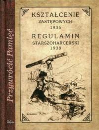 Kształcenie zastępowych 1936 Regulamin - zdjęcie reprintu, mapy