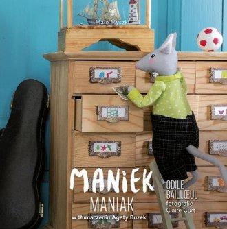 Maniek Maniak - okładka książki