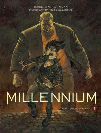 Millennium. Tom 3. Zamek z piasku - okładka książki