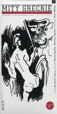 Mity greckie 7 Minotaur (+ CD) - okładka książki