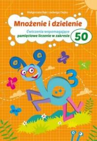 Mnożenie i dzielenie do 50 Pryzmat - okładka książki